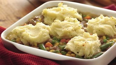 Mashed Potato and Sausage Casserole