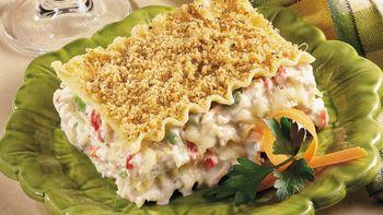 Cream Cheese-Chicken Lasagna
