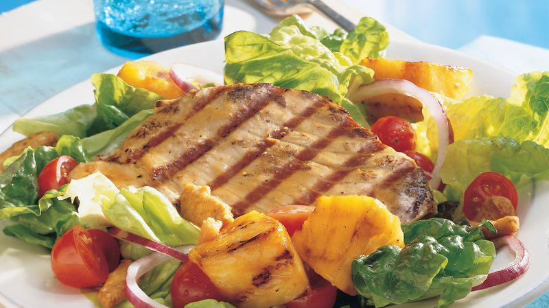 Grilled Pacific Rim Tuna Salad