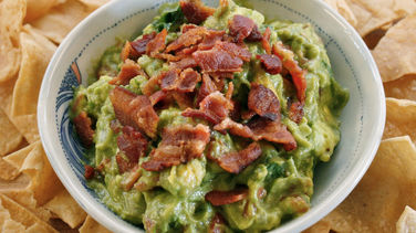 Bacon Avocado Tomato (BAT) Guacamole