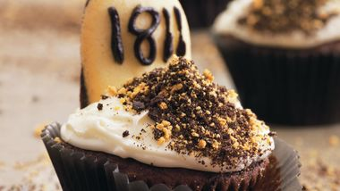 Halloween Tombstone Cupcakes