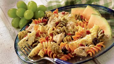 Dijon Chicken and Pasta Salad
