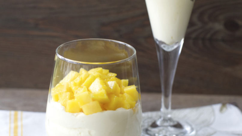 Passion Fruit and Mango Mousse