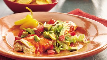 Green Chile-Turkey Enchiladas
