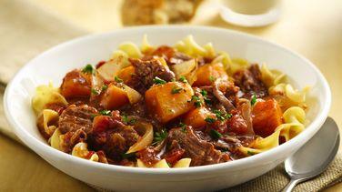 Slow-Cooker Savory Brisket Stew