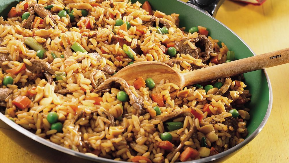 Szechuan Beef Fried Rice