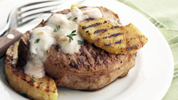 Orange Pork and Pineapple on the Grill
