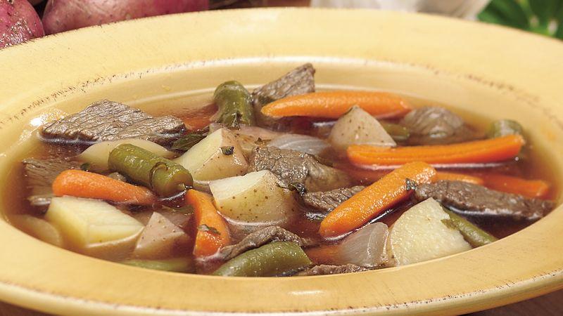 Steak and Potato Soup
