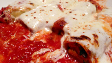 Cannelloni with Ricotta and Walnut