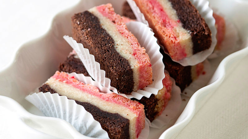 Neapolitan Cake Bars Recipe From Betty Crocker