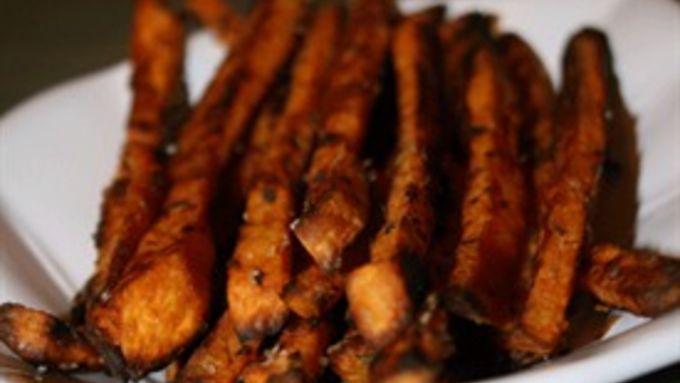 Parmesan Rosemary Sweet Potato Fries