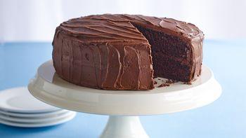 Vegan Chocolate Layer Cake