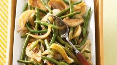 Balsamic Green Beans and Fennel