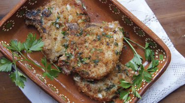 Panko Breaded Pork Chops