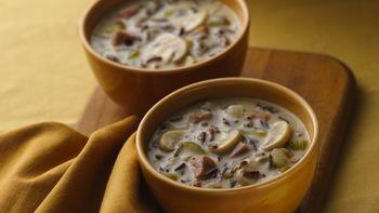 Wild Rice-Mushroom Soup