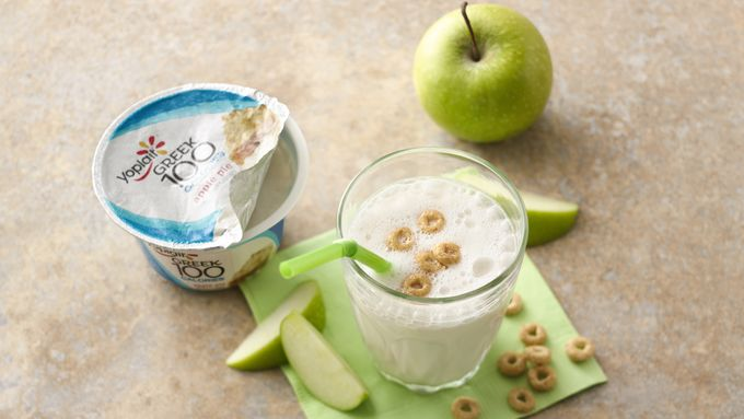 Apple Cinnamon Cereal Smoothies