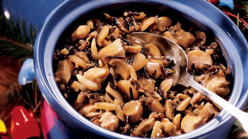 Chicken Wild Rice Amandine