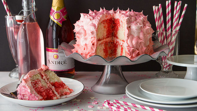 Pink Champagne Cake Images : Pink Champagne Buttercream Cake recipe - from Tablespoon!