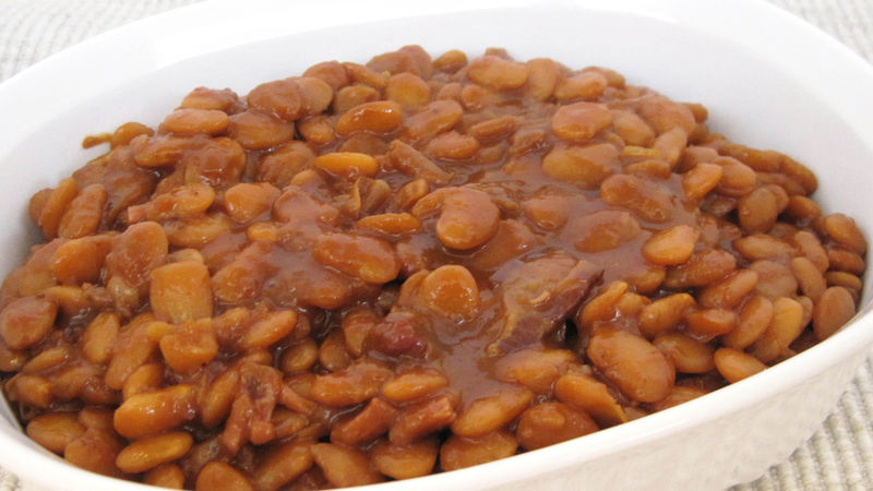 Mom's Baked Beans recipe from Betty Crocker