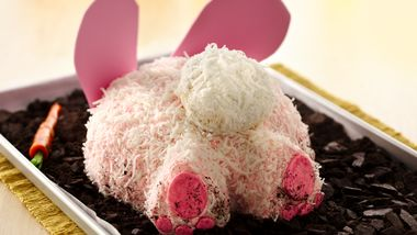 Chocolate Bunny Butt Cake
