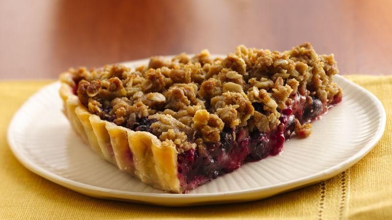 Berry Delicious Crumble Tart