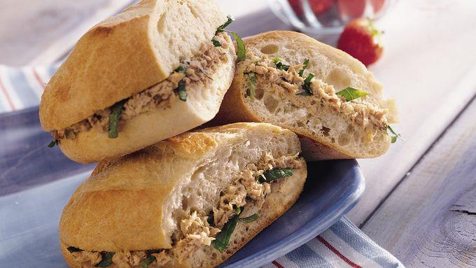 Tuna Salad Sandwiches with Lemon Rémoulade