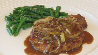 Beer-Braised Pork Chops