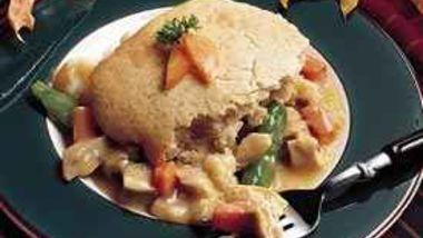 Reduced-Fat Chicken Pot Pie