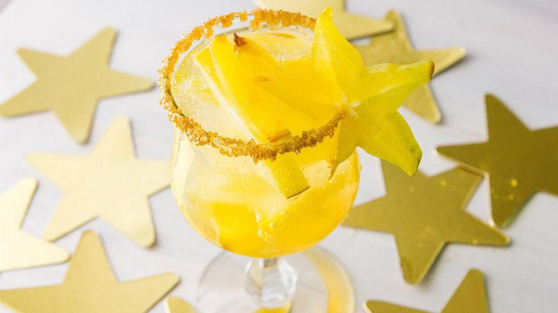 Starfruit Pisco-Sour Punch