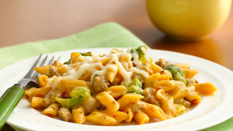 Turkey and Broccoli Pasta