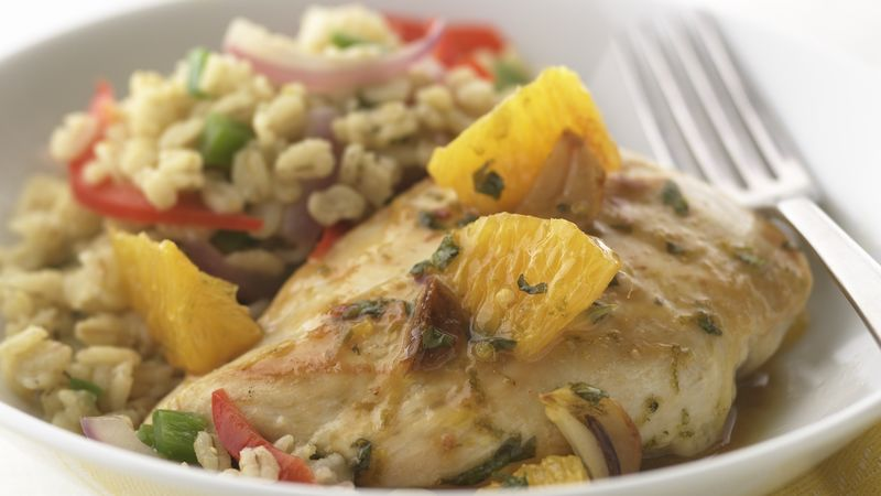 Skinny Fresh Citrus Chicken