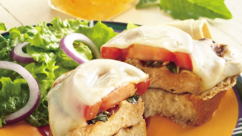 Provolone-Smothered Chicken