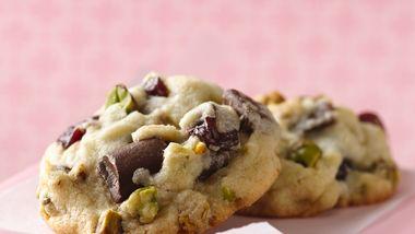 Spumoni Chunk Cookies