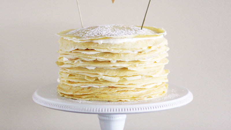 Crepe Cake Easy Recipe