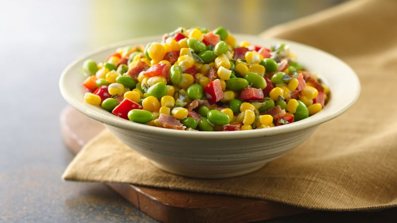 Edamame-Corn Toss