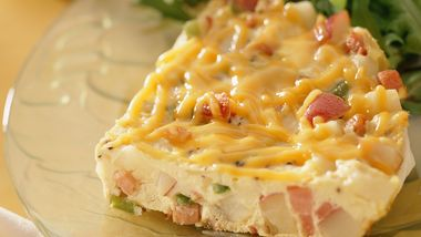 Hickory Ham and Potato Frittata