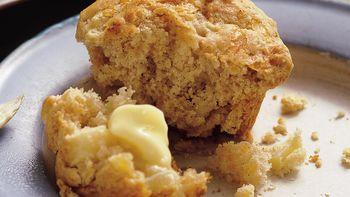 Apple-Cheddar Muffins