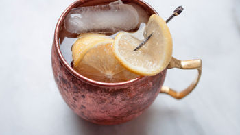 Ginger Beer Lemon Drop Cocktail