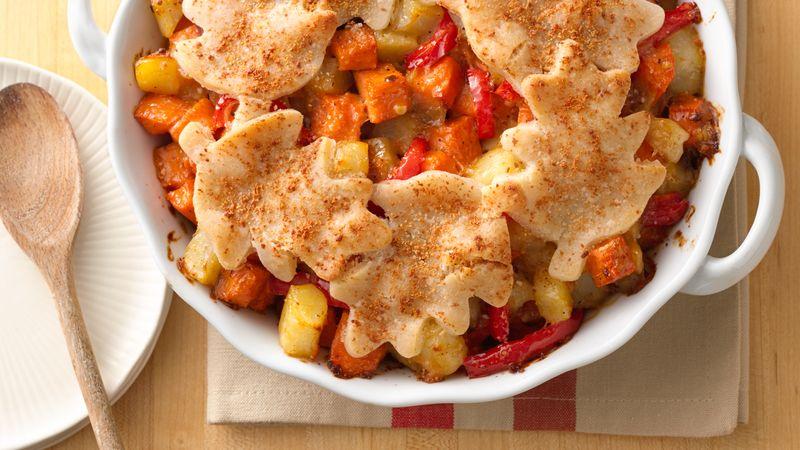 Gluten-Free Sweet Potato Hash Pie