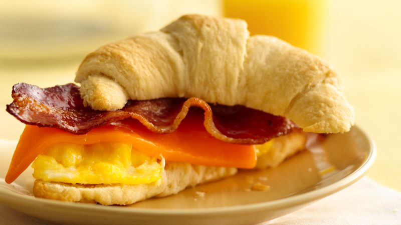 Egg and Bacon Crescents