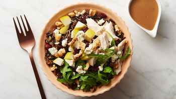 Chicken Wild Rice Bowls