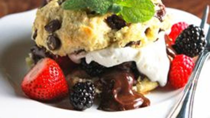 Chocolate Chip Berry Shortcakes