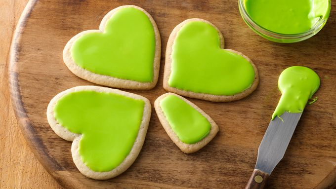Shamrock Pull-Apart Cookies