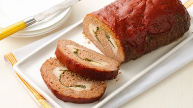 Rolled Italian Meatloaf