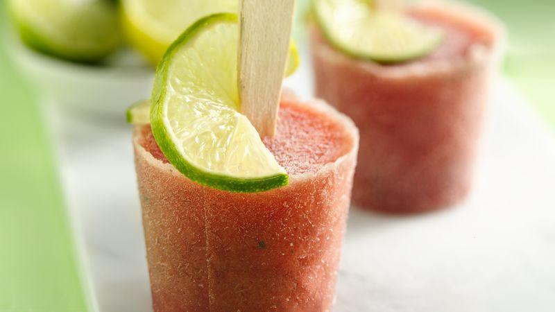 Watermelon Mojito Cocktail Pops