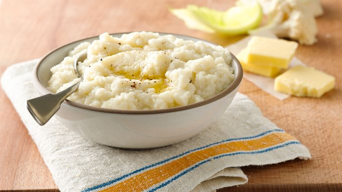 "Gluten-Free Paleo Cauliflower Mashed ""Potatoes"""