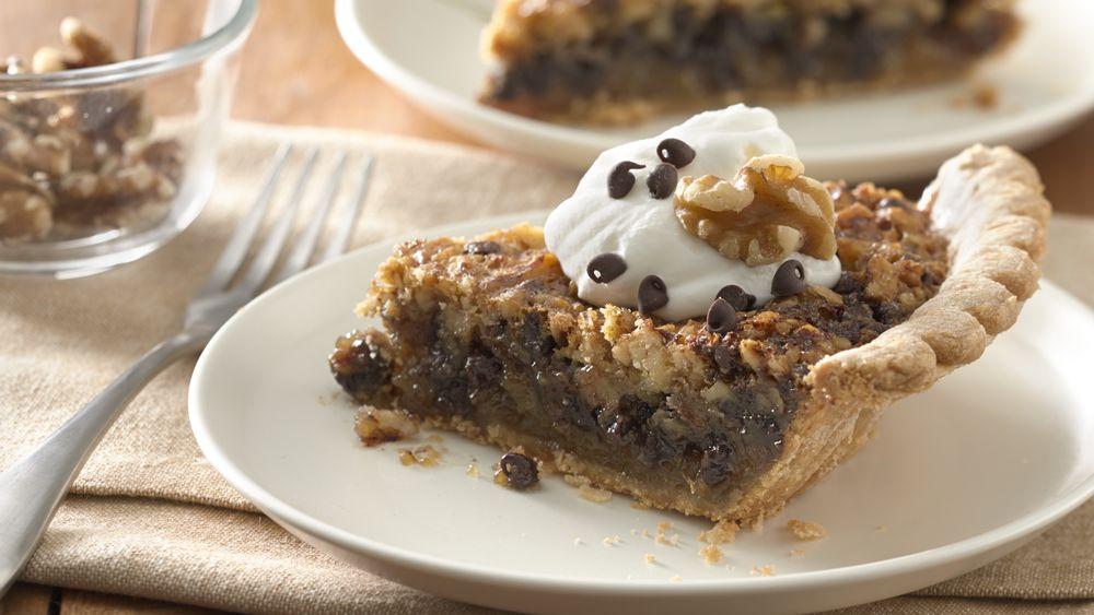 Kentucky Chocolate and Walnut Pie