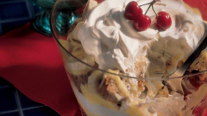 Easy Banana Cream Trifle