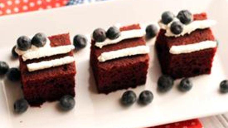 Mini Flag Cakes