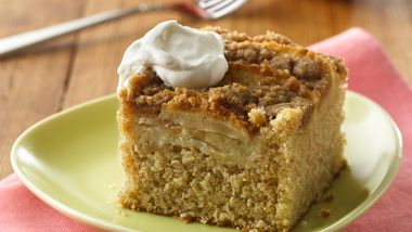 Country Apple Streusel Cake